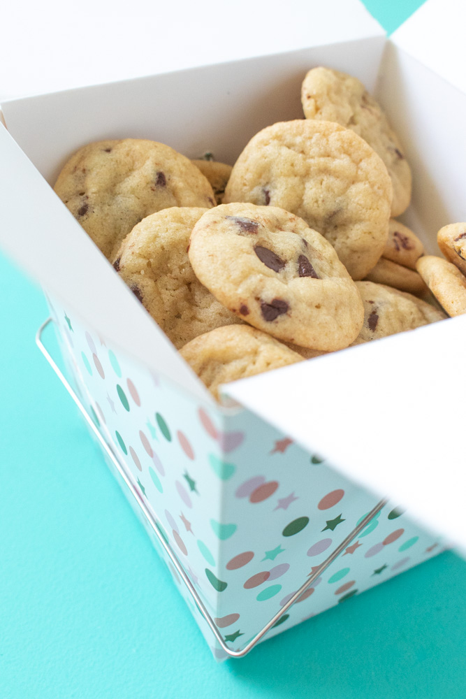 Itty Bitty Mini Chocolate Chip Cookies | Club Crafted