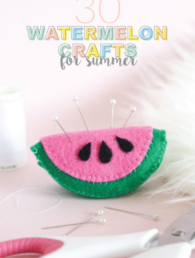 Fun Watermelon Crafts for Summer
