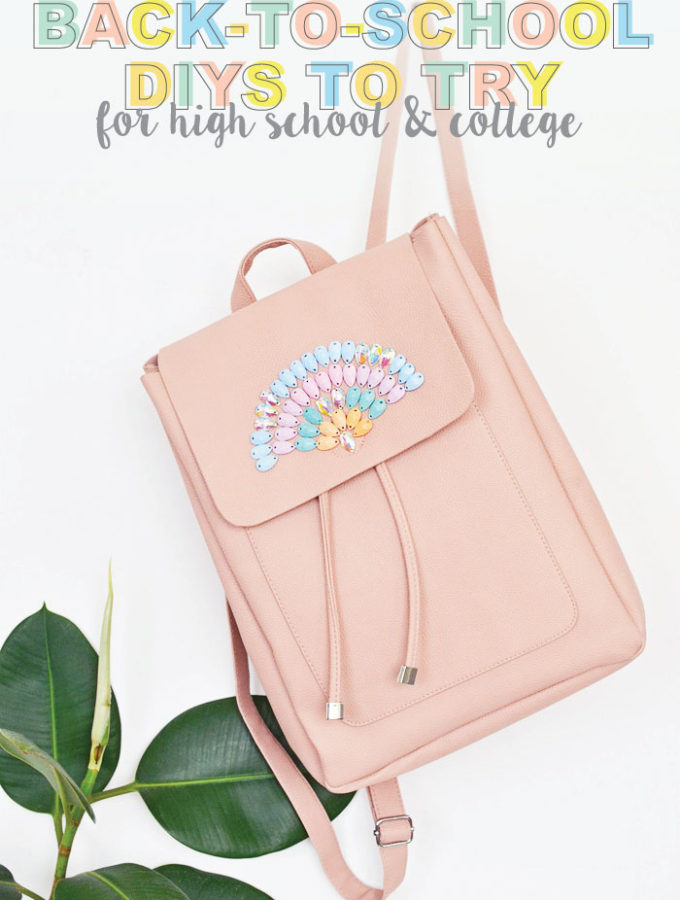 Back-to-School DIYs to get You Excited for a New Year
