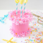 DIY Birthday Cake Gift Box