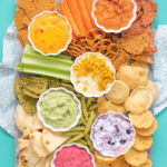A Rainbow of Dip Ideas for Summer