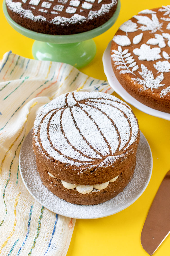 Fall Cake Stencils with Templates (+ 3 Ways to Use Them!)   Club Crafted
