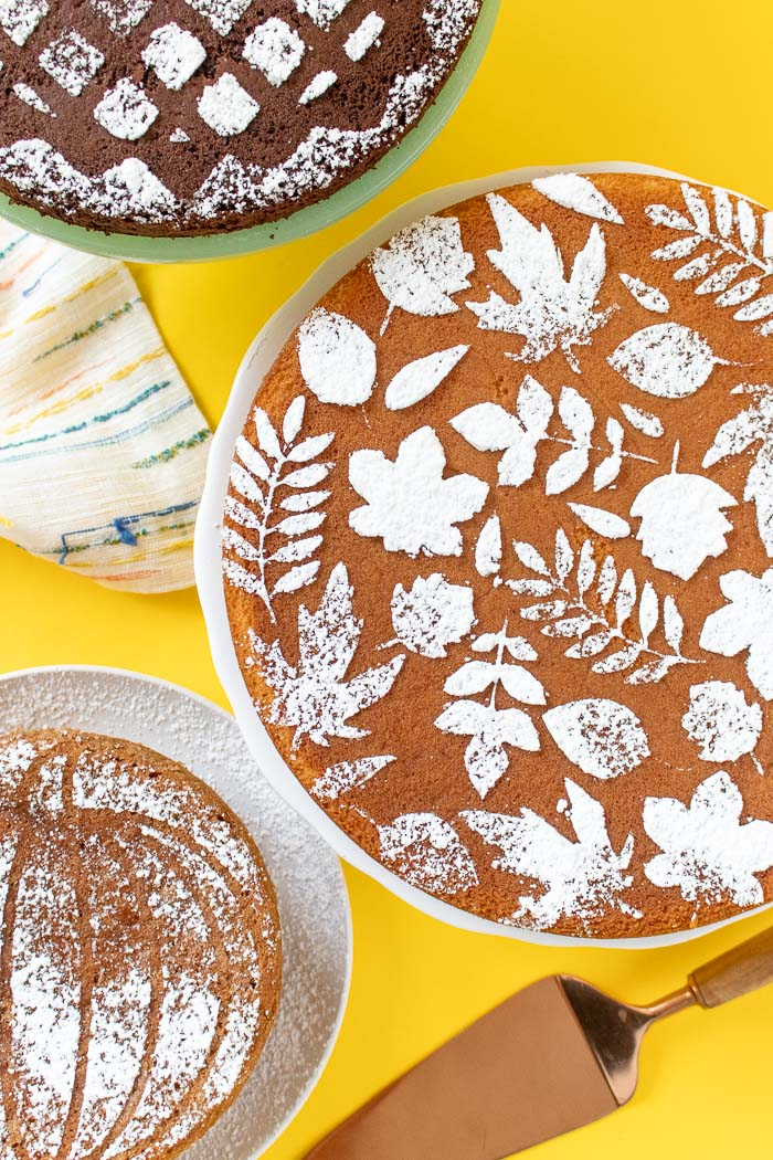 Fall Cake Stencils with Templates (+ 3 Ways to Use Them ...