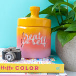 DIY Gradient Treat Jar