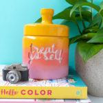 DIY Gradient Treat Jar