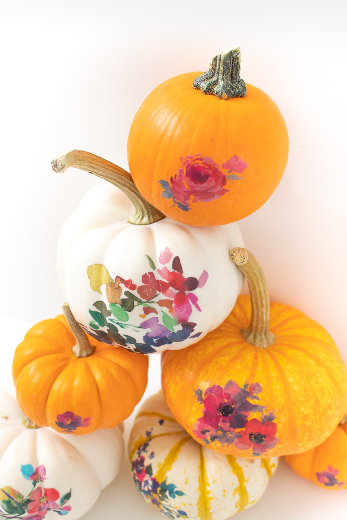 DIY Temporary Tattoo Pumpkins for Fall   Club Crafted