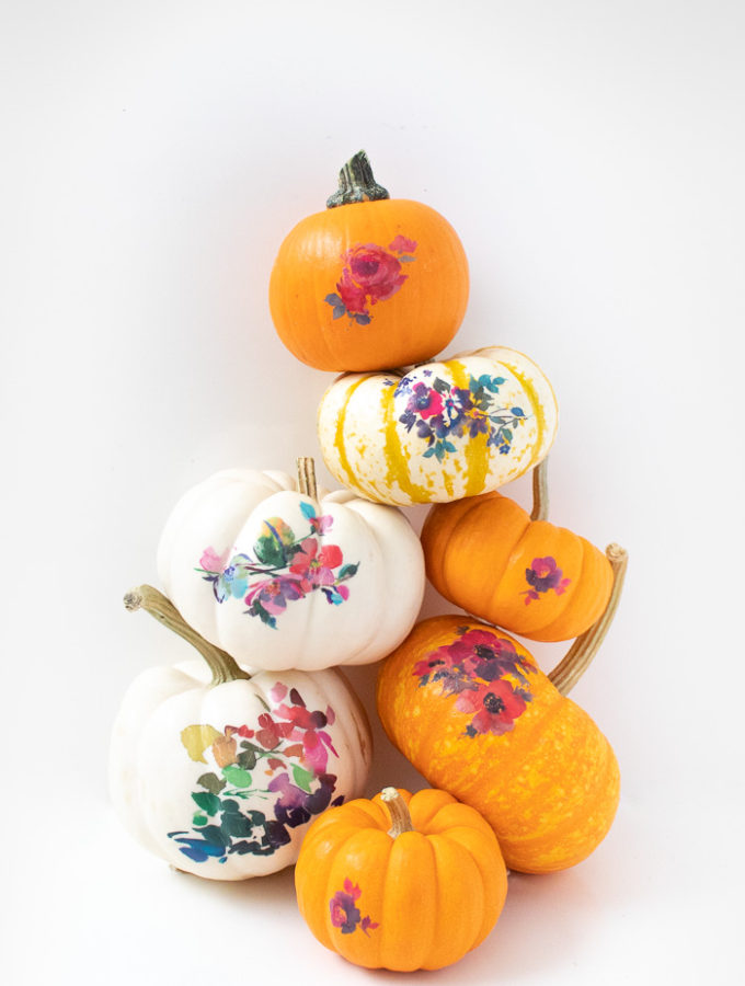 DIY Temporary Tattoo Pumpkins