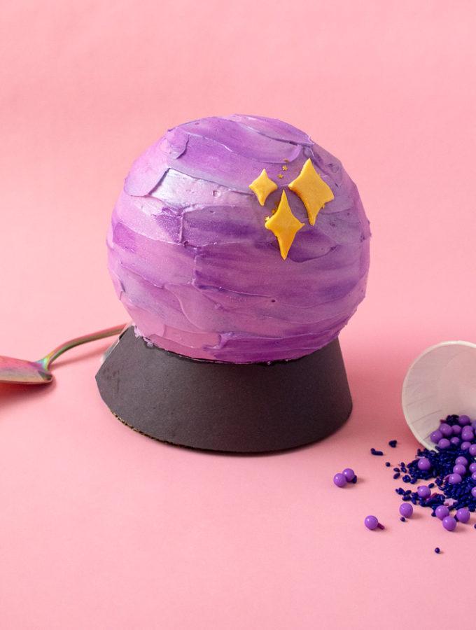 Crystal Ball Cake