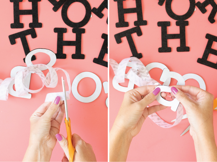 DIY Interchangeable Easy Letterboard Costume for Halloween | Club Crafted