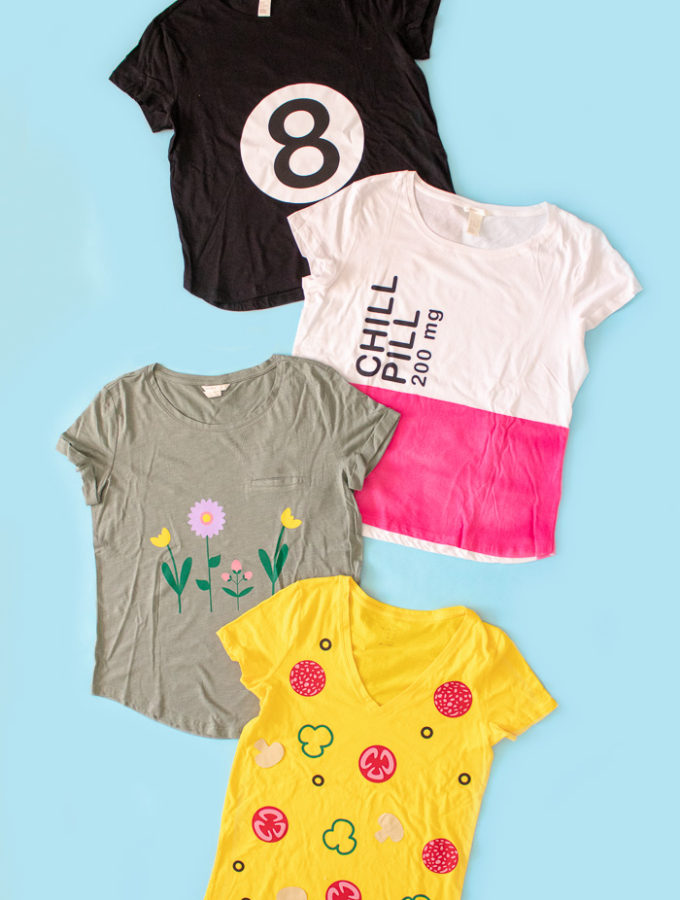 4 Easy Last-Minute T-Shirt Halloween Costumes (+ Free Templates!) | Club Crafted