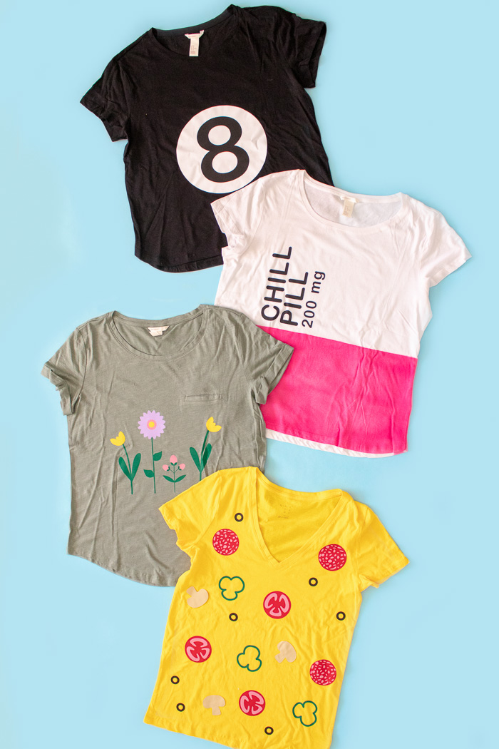 4 easy last minute t shirt halloween costumes free templates