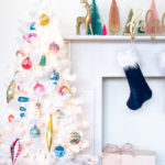 My Colorful Vintage Christmas Tree