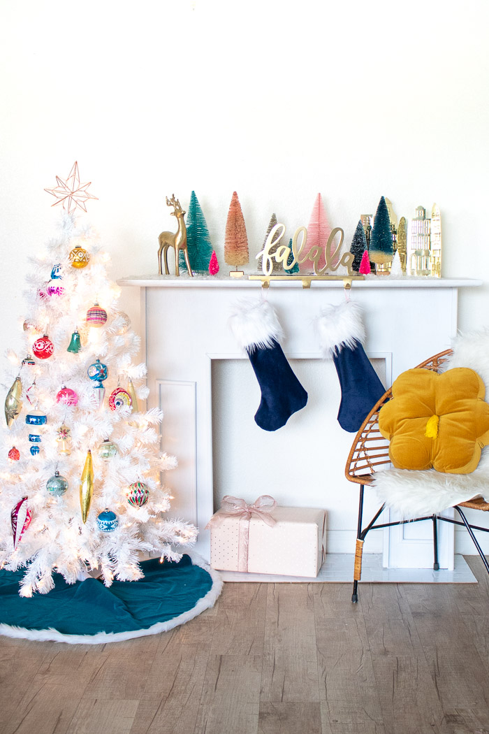 My Colorful Vintage Christmas Tree | Club Crafted