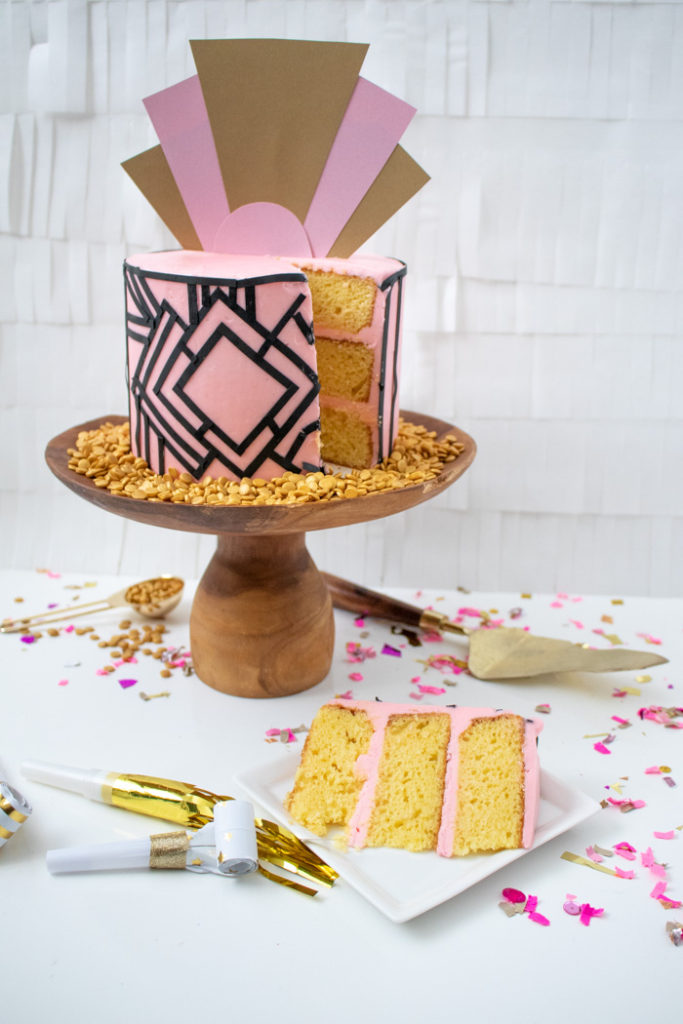 Art Deco Cake | Club Crafted