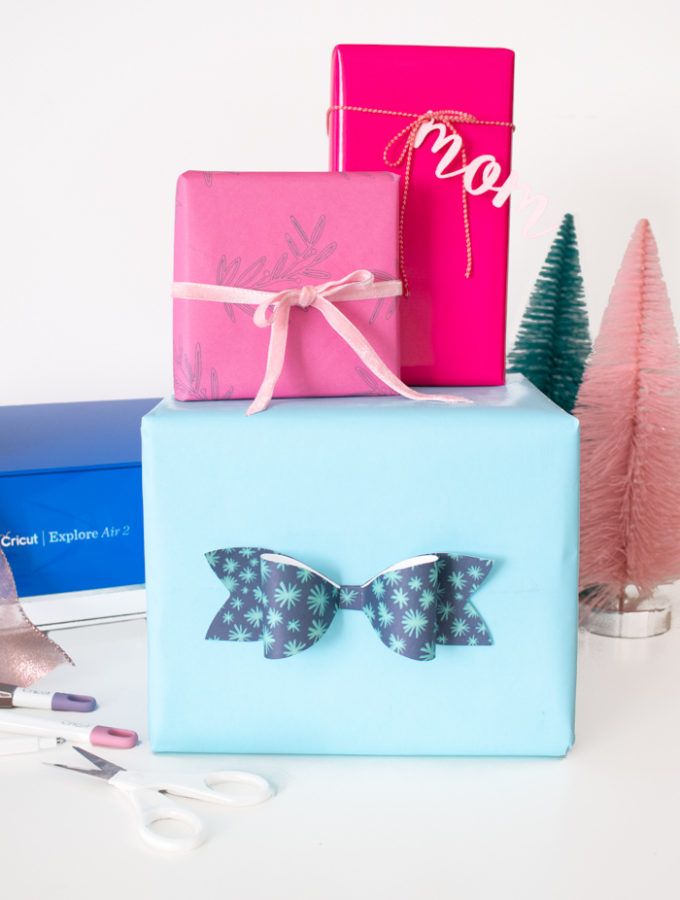 How to Customize Gift Wrap with the Cricut Explore Air 2 (+ an Instagram Giveaway!) | Club Crafted