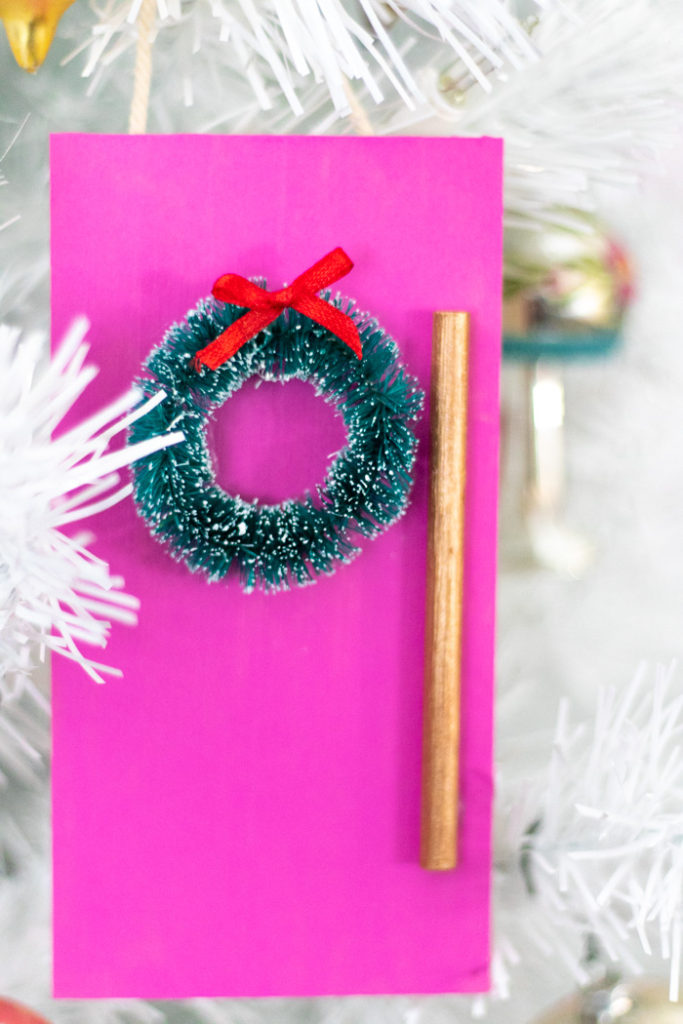 DIY Colorful Door Ornament for Christmas | Club Crafted