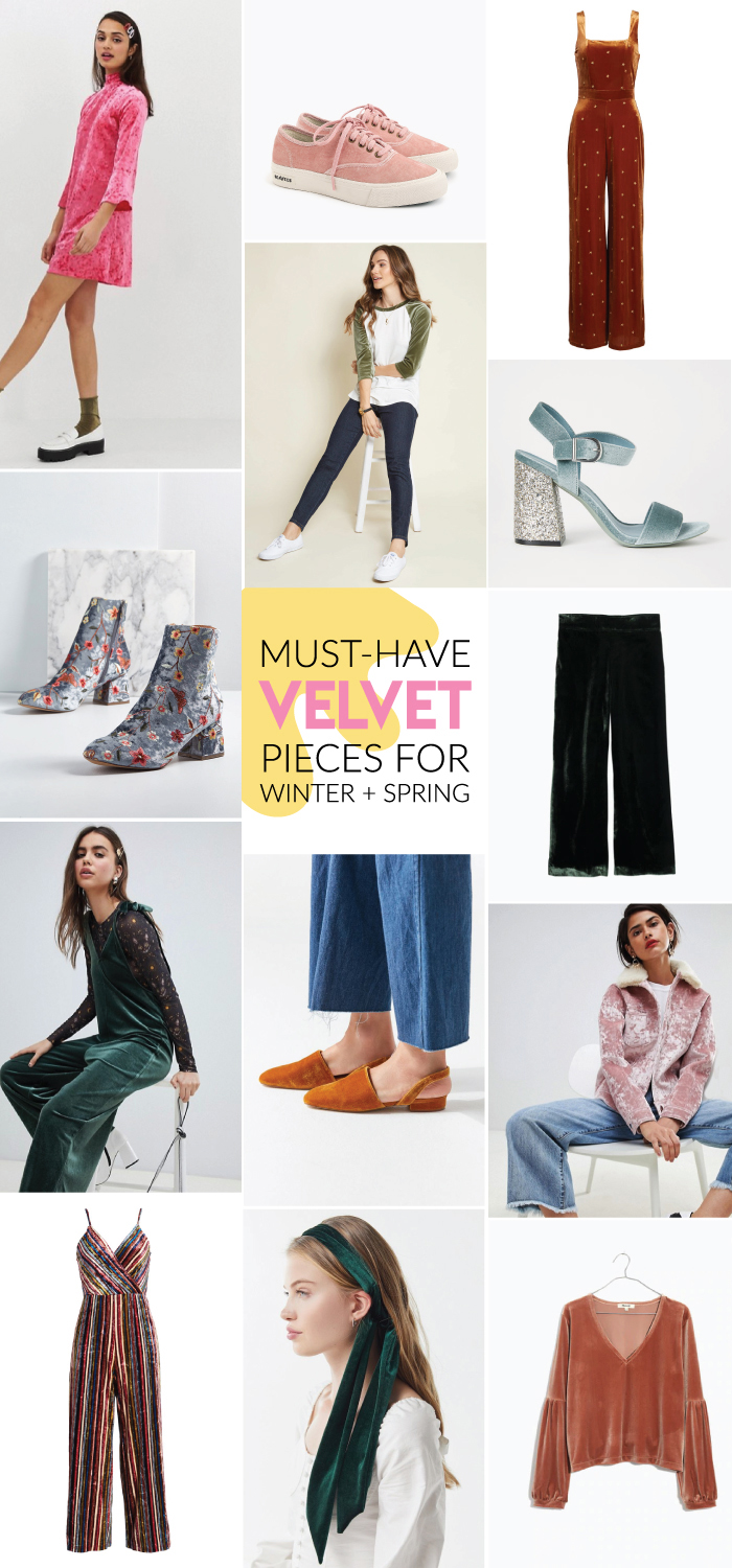 My Must-Have Velvet Pieces Right Now | Club Crafted