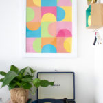 Simple DIY Geometric Paper Wall Art