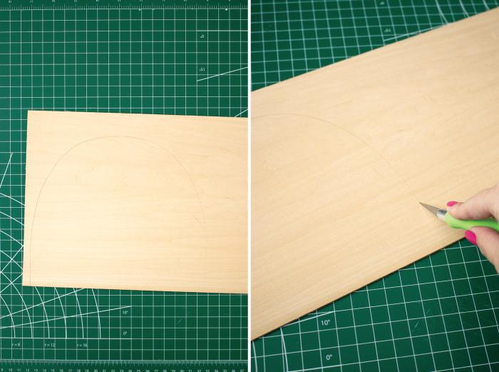 DIY Rainbow Paper Organizer | Club Crafted