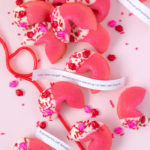 Valentine's Day Pick-Up Line Cookies (Fortune Cookies)