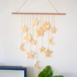DIY Celestial Wall Hanging
