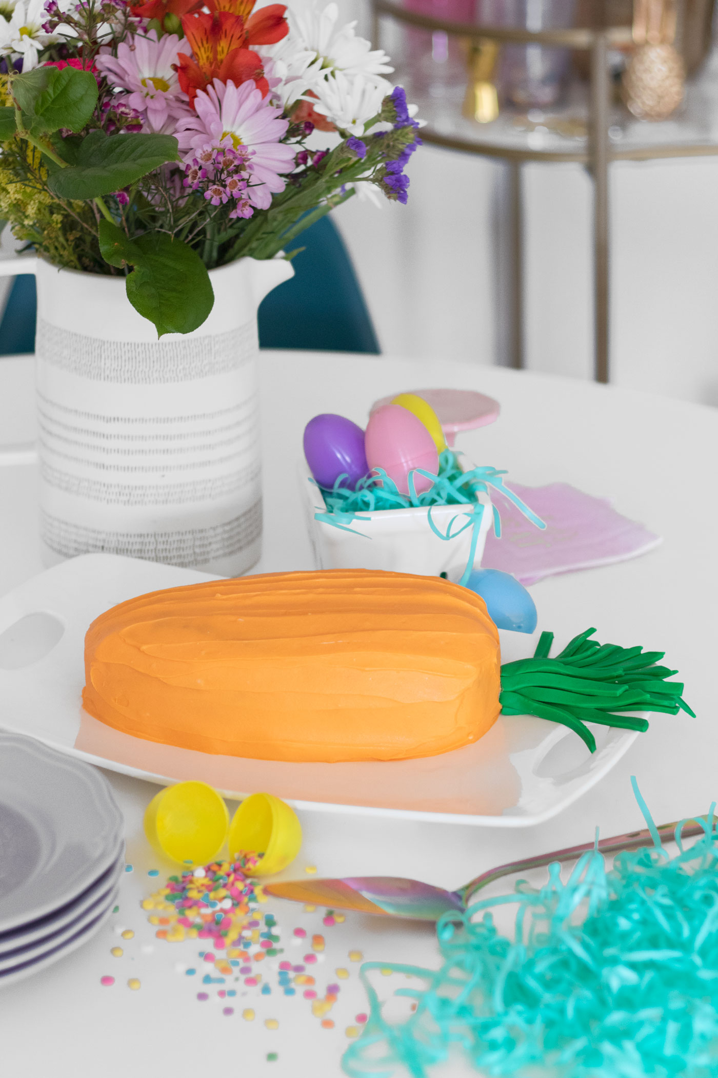 Literal Carrot Cake for Easter Brunch | Club Crafted