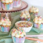 Magical Funfetti Cloud Cupcakes (Surprise-Inside Cupcakes)