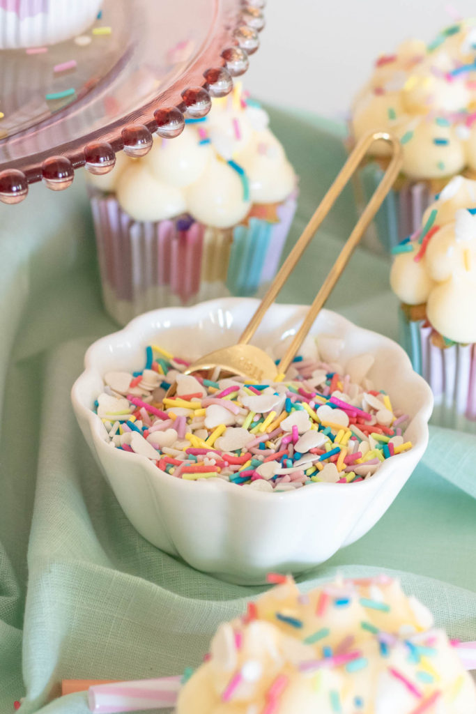 Magical Funfetti Cloud Cupcakes | Club Crafted