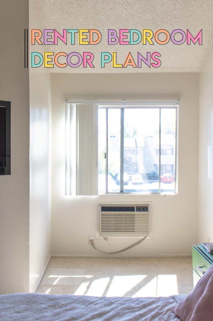 Rented Apartment Bedroom Decor Plans with Wayfair | Club Crafted