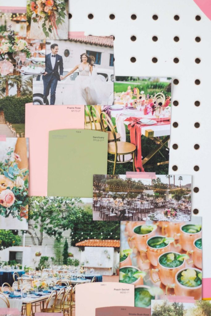 Whimsical Garden Wedding Mood Board | Club Crafted