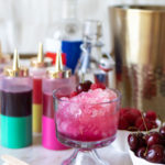 Boozy Snow Cones for 4th of July // Real Fruit Snow Cone Syrups