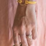 DIY Metal Stamped Washer Bracelets