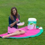 DIY Watermelon Picnic Blanket Sewing Tutorial