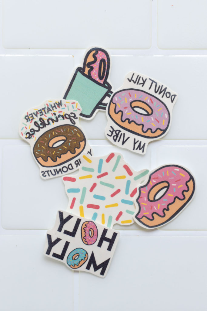 Freebie! DIY Printable Donut Temporary Tattoos | Club Crafted