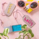 DIY Leather Personalized Luggage Tag with Cricut