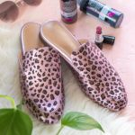 DIY Leopard Print Shoes // Painted Shoe Makeover [+ a Video]