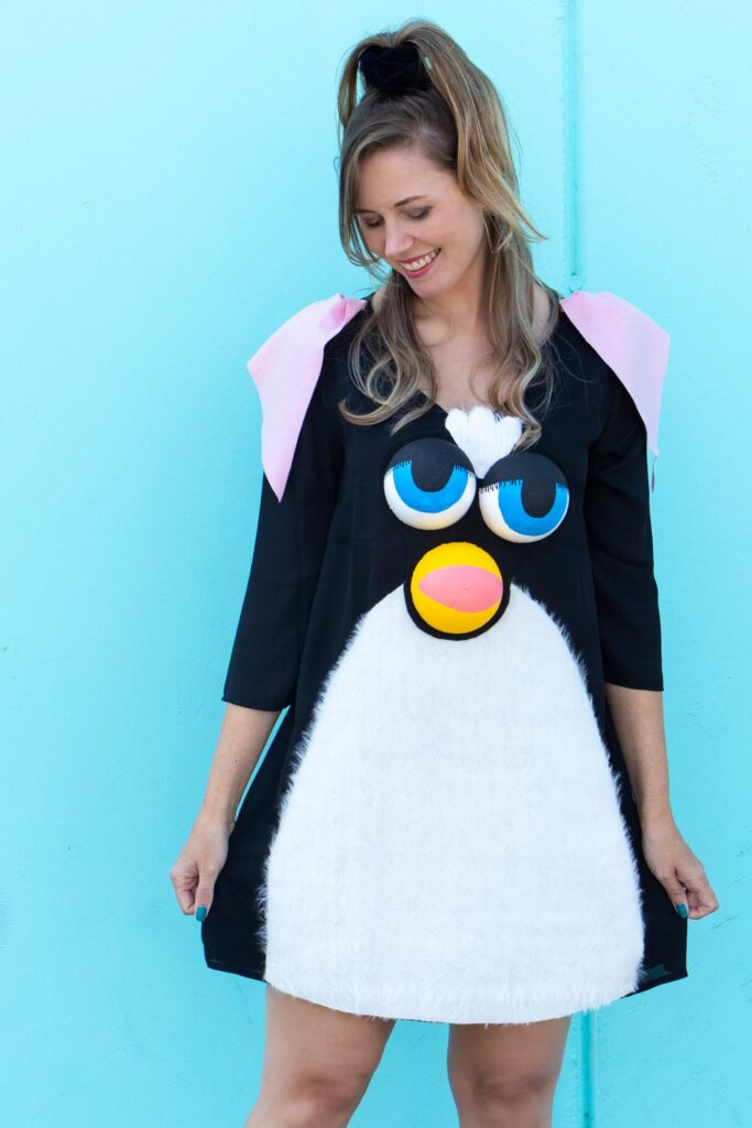 20 DIY 90s Toy Costumes for Halloween // Still need a Halloween costume? Try one of these nostalgic DIY 90s costumes based on childhood toys and games! #diycostume #halloween #diyhalloween #90s #adultcostumes #kidscostumes