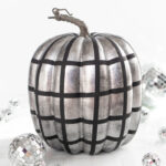 DIY Disco Ball Pumpkin
