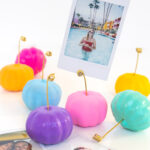 DIY Pumpkin Photo Holders