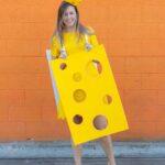 DIY Easy Cheese Costume (Cheeseboard Costume)