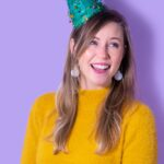 DIY Christmas Tree Party Hats
