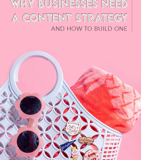 Why Businesses Need a Content Strategy (and How to Build One) // See how to build a content strategy for your business using different types of content, like blog posts, photography, videos, podcasts or free downloads! You don't have to be a creative person to produce quality content that drive sales! Click through for details and how and why businesses should focus on content creation #contentcreation #blogging #marketing #businesstips #smbtips #smallbusiness #entrepreneurtips #photography #contentstrategy #contentmarketing