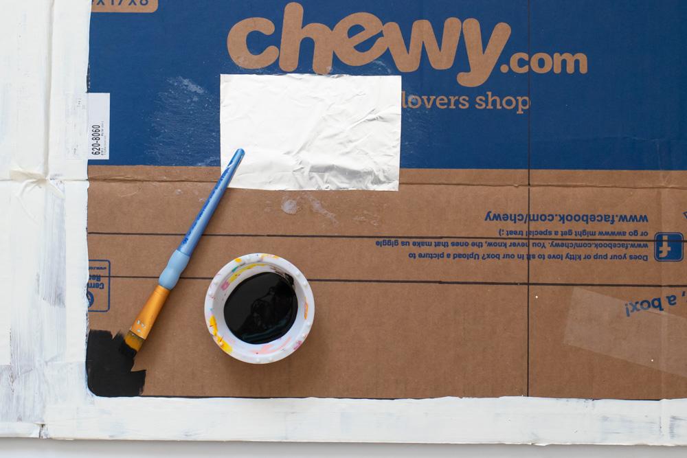 Painting box for Easy Bake Oven Halloween costume